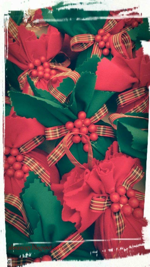 Fabric ball ornaments for Xmas tree #handmadeornaments #xmasdecor #christmasdecor #handmadedecor #handmadeballs #almanogr
