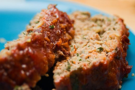 Sauteed mushrooms replace the breadcrumbs in this delicious meatloaf recipe