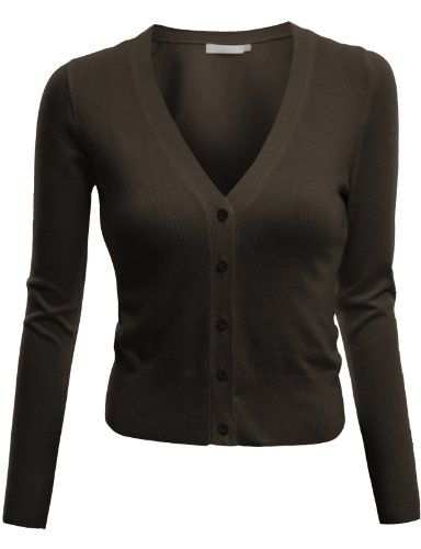 Special Offer: $18.99 amazon.com Doublju V-Neck Cardigan Button Front Crop Cardigan (S – 3XL) DOUBLJU womens long sleeve v-neck cardigan button down crop cardigan is a soft and stretchy fabric. This womens long sleeve v-neck button down crop cardigan comes in variety of colors and...