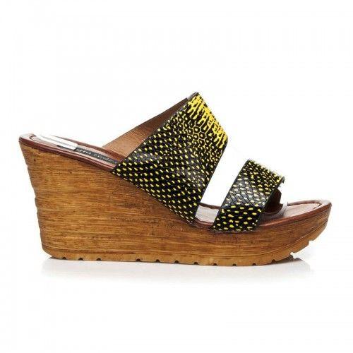 Dámské pantofle Panta žluté – žlutá Svěží a hravá – přesně jako léto! Tyto rozkošné pantofle na klínku jsou jako stvořené pro nadcházející dny plné slunce a radosti. Díky příjemné stélce z EKO kůže, lehkosti …