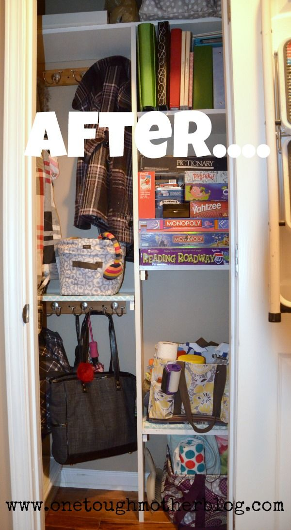 17 Best Ideas About Coat Closet Makeovers On Pinterest