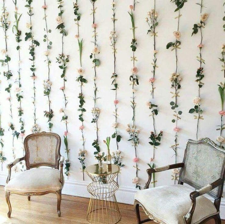 . #decoración de paredes de balcones in 2020 | Flower room ... on Room Decor Paredes Aesthetic id=63620