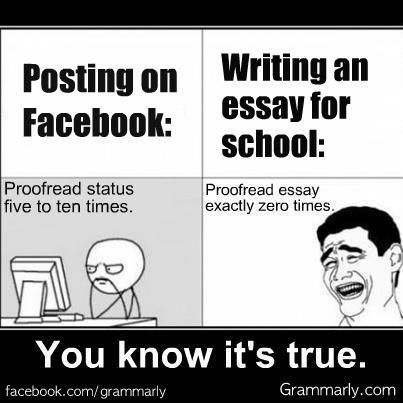I have to write an essay on Facebook.?