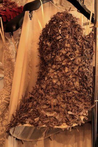 """""""Ophelia's Dream"""" di Mara Sanzone. #Backstage ph.Cinzia Incorvaia #MADEINMEDI2013"""