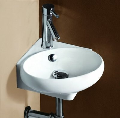 compact sink for 1/2 bath