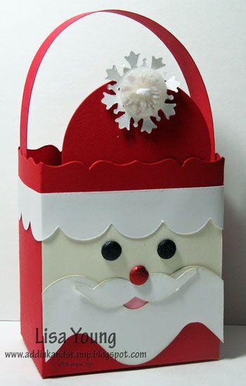 Bolsa navideña Santa Claus