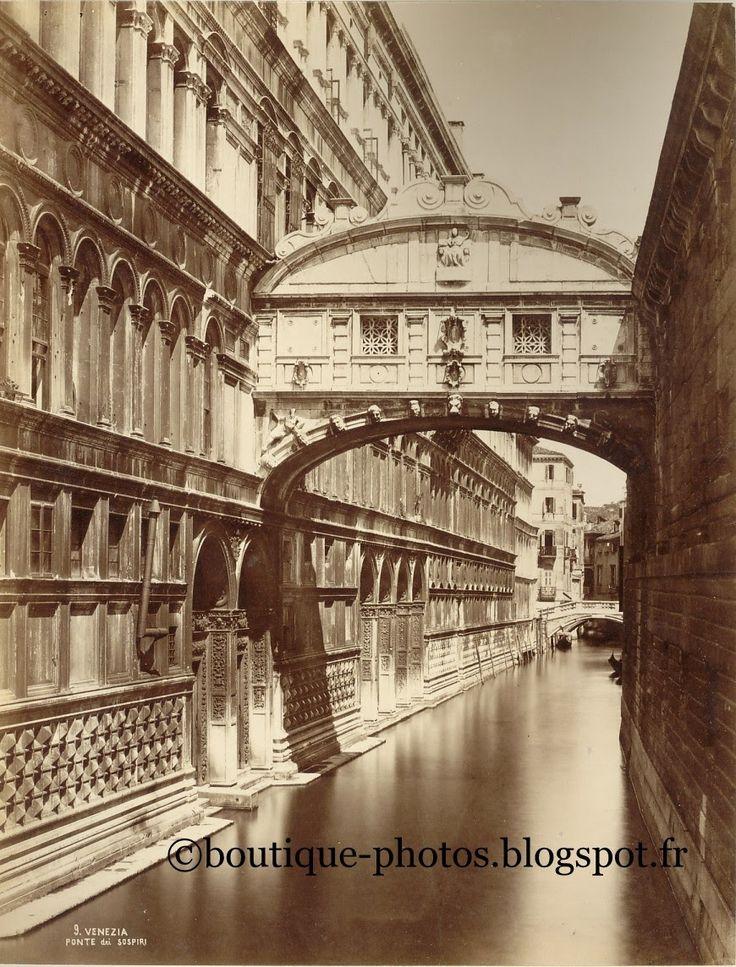 Boutique-Photos:  Italie Venise. Pont des Soupirs / Italia Venezia....