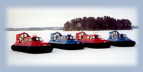 Products - BBV Hovercraft