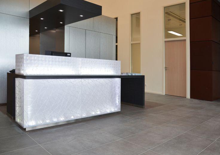 B31 Meignan Jean-Pierre Credit Agricole #CasalgrandePadana #architecture #design #interiordesign #ceramics #business #banks #banche #architettura