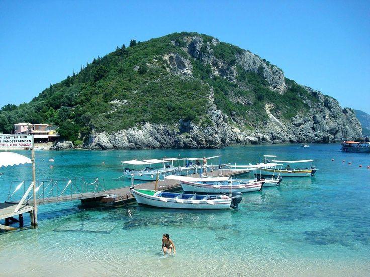 #Palaiokastritsa in #Corfu island, #Greece