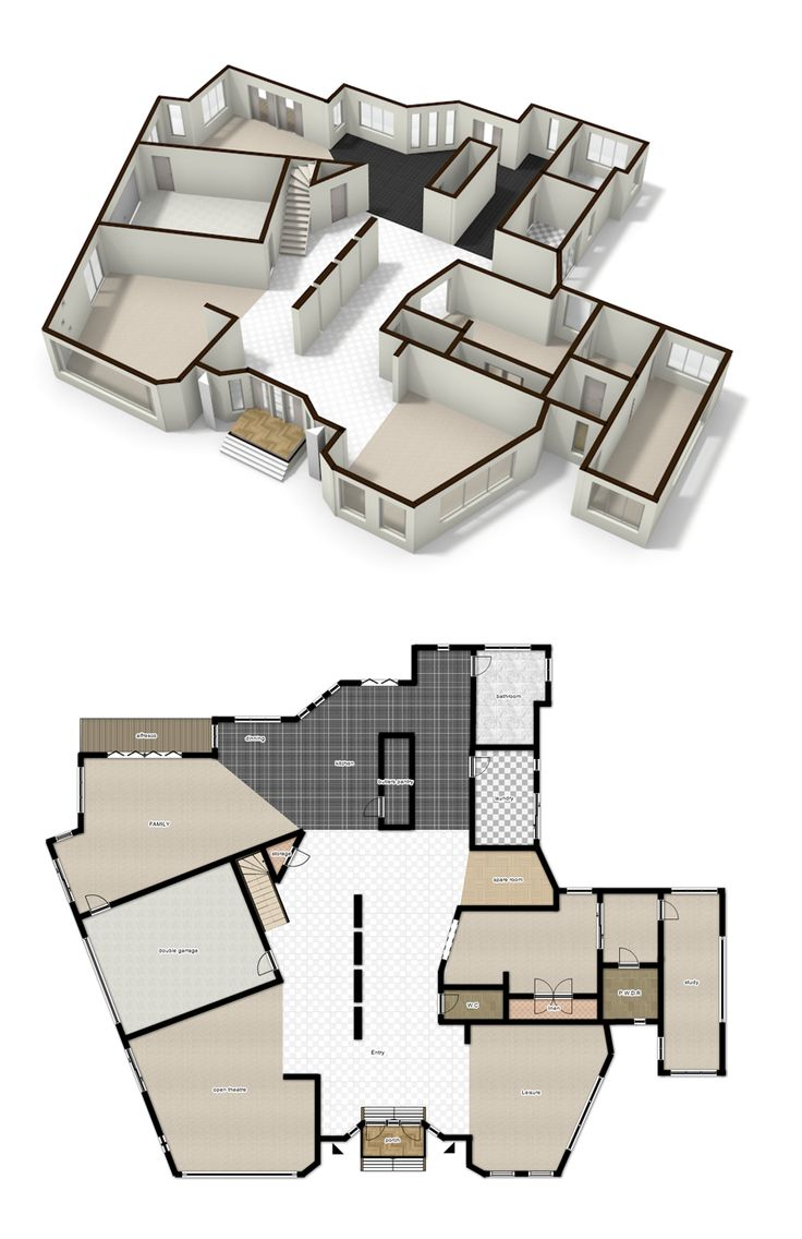 127 best cool floorplans images on pinterest house floor for Cool floor plans