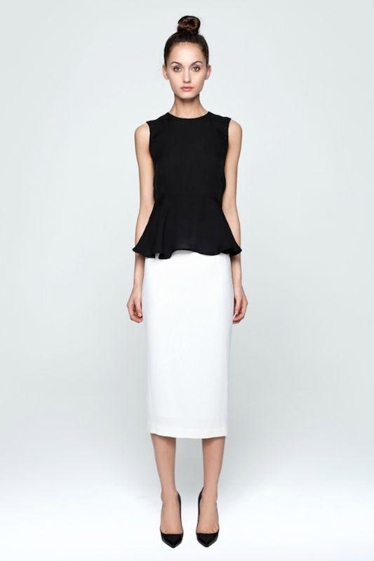Peplum - channel your inner Delta Burke/Suzanne Sugarbaker ....the PEPLUM is back!