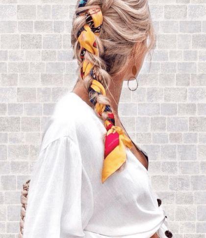 Las maneras más cool de peinarte con un pañuelo - EstiloDF Hair Inspo, Medium Hair Styles, Bandana, Cool Hairstyles, Beautiful, Beauty, Social Media, Bandana In Hair, Hair Bandanas