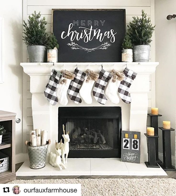 "14 Likes, 4 Comments - Matthew Iacopelli (@decoratingwithless) on Instagram: ""I'm a big fan of neutral Christmas decorating. I ❤️️how Holly from @ourfauxfarmhouse has decorated…"""