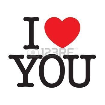i love: I Love You