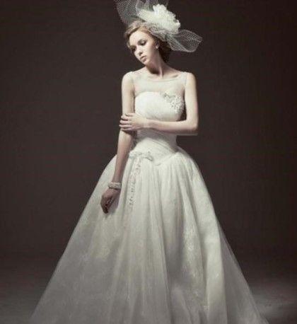 흰색 드레스