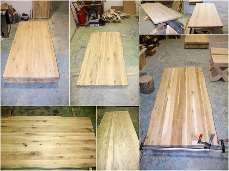 Tipuri de blat de masa din lemn de stejar