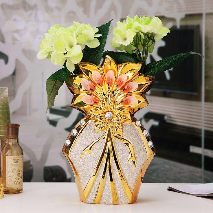 17 mejores ideas sobre decoraciones para el florero en for Jarrones decorativos para jardin