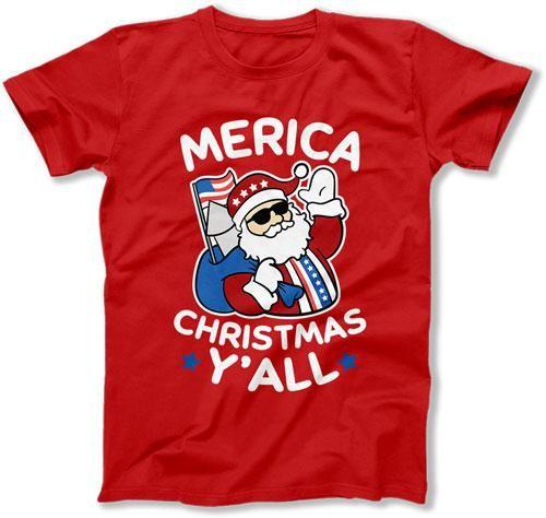 MENS - Merica Christmas Y'All - TEP-526