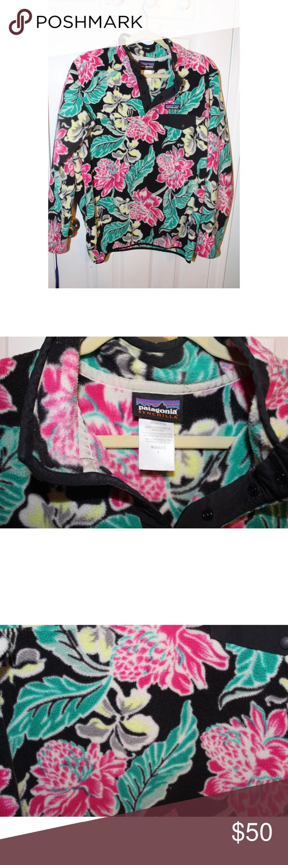 Patagonia Pullover Tropical Patagonia pullover in great condition! Patagonia Jackets & Coats