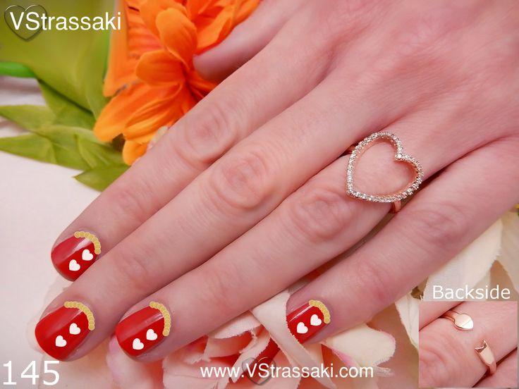 Κωδικός: 145 - 6.90 €. Δαχτυλίδι με καρδιά. Για παραγγελία: ▶ Μέσω φόρμας : http://www.vstrassaki.com/#!form/v0sut ▶ Μέσω e-shop : www.vstrassaki.com ▶ Με SMS στο 6988288107 όπου μας στέλνετε ονοματεπώνυμο, διεύθυνση και τον κωδικό ή τους κωδικούς που σας ενδιαφέρουν.  #ΔΑΧΤΥΛΙΔΙ        #ΔΑΧΤΥΛΙΔΙΑ       #ΜΟΔΑ       #ΚΟΣΜΗΜΑ        #ΚΟΣΜΗΜΑΤΑ        #ΜΟΝΤΕΡΝΟ       #ΣΤΡΑΣ        #ΚΑΡΔΙΑ        #ΑΞΕΣΟΥΑΡ        #VSTRASSAKI