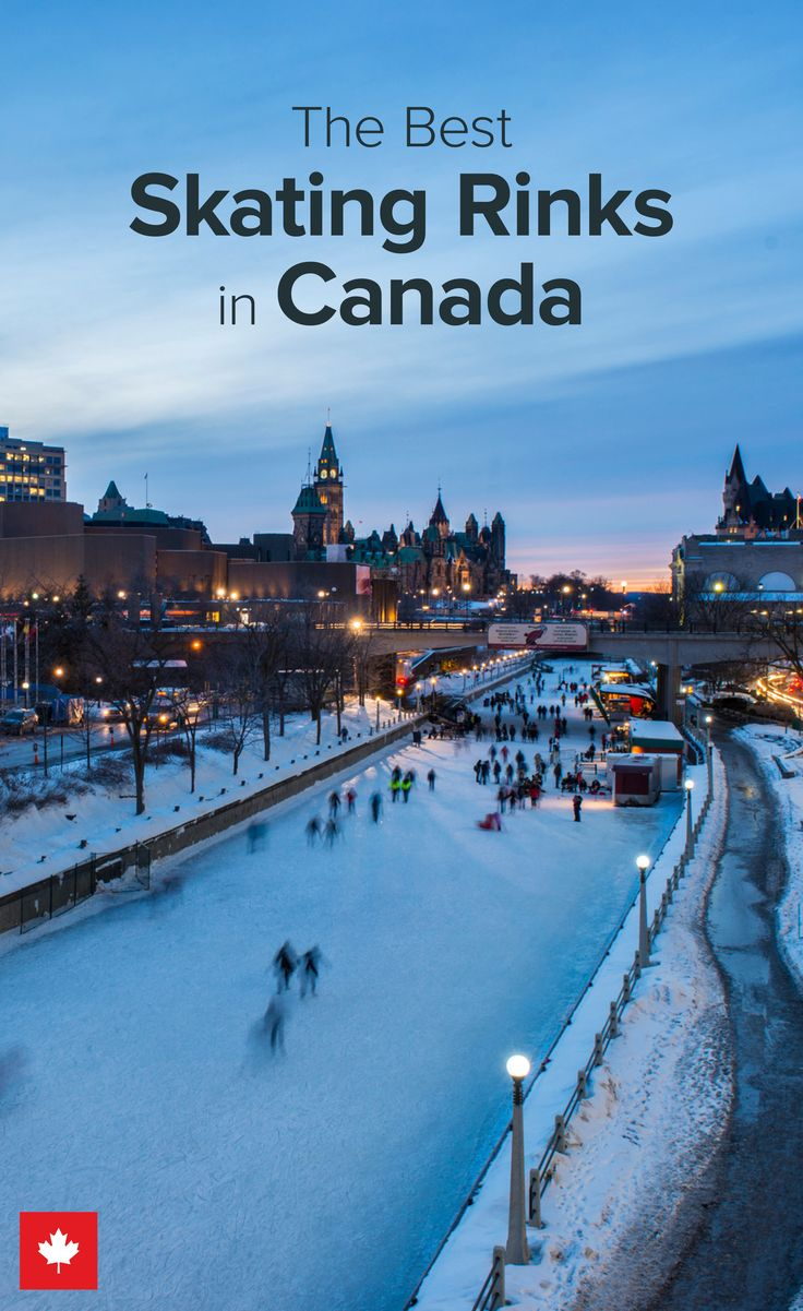 Strap on your skates and hit the ice across Canada.