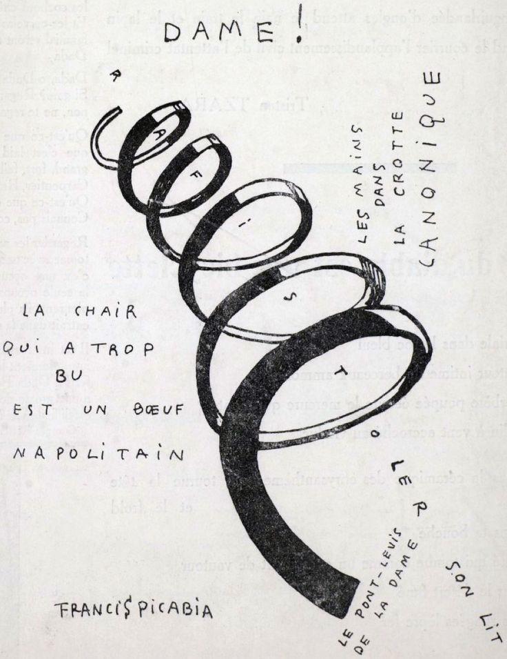 Dadaphone n. 7 Paris Francis Picabia