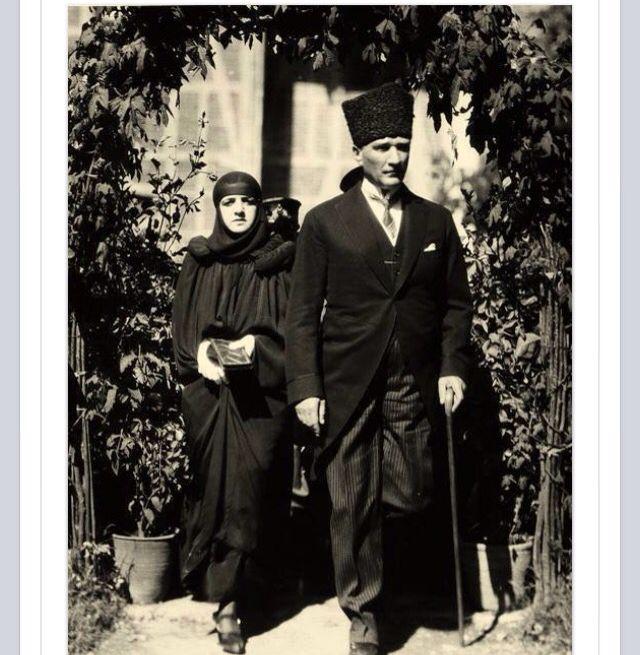Latife Hanım & Mustafa Kemal Atatürk.