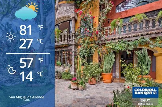 San Miguel de Allende Weather! Sunny sunny with some clouds #weather #sanmigueldeallende #sma #gto #mexico