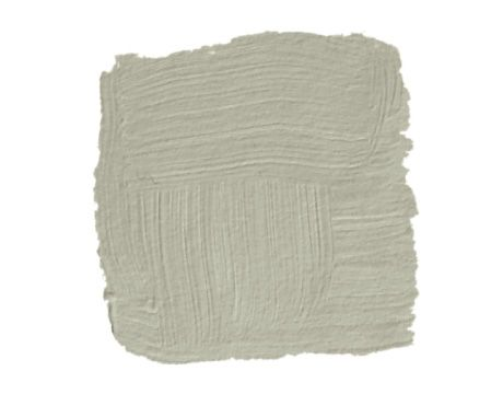 Benjamin Moore's November Rain — it's a putty color, warm but not too warm