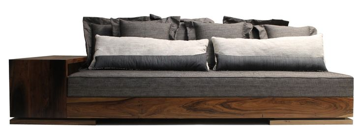 Patone Sofa  MidCentury  Modern, Leather, Upholstery  Fabric, Wood, Sofas  Sectional by Costantini Design