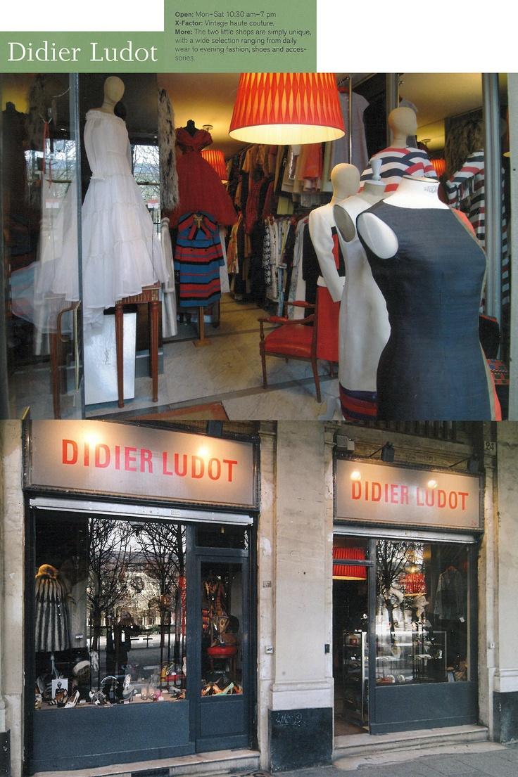 vintage stores bastille paris