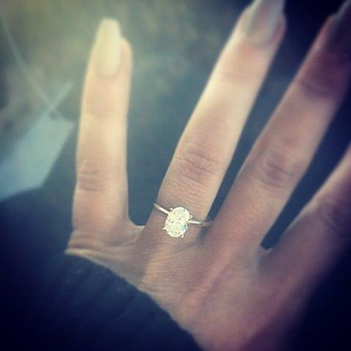Chelsea Houska engagement ring from Cole DeBoer