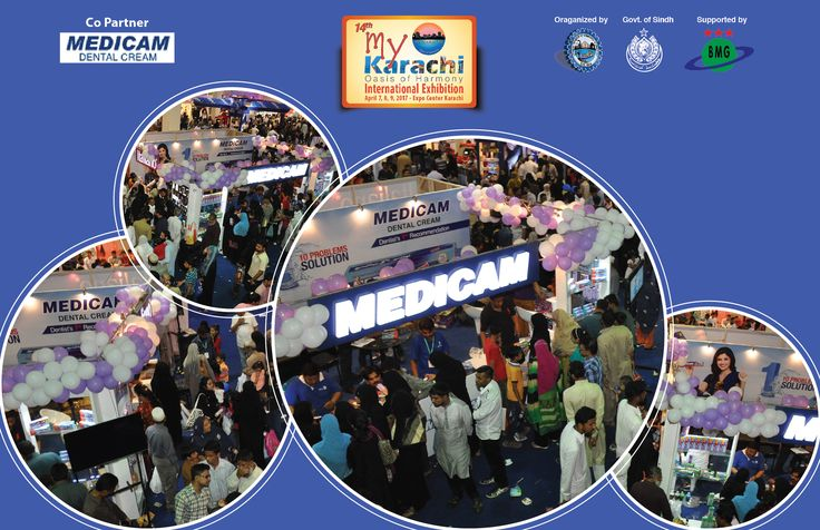 Karachi chamber of commerce and industry is delighted to be sponsored by a well known brand Medicam, a synonym of quality and perfection  #14thMyKarachiOasisOfHarmony #families #InternationalExhibition #ExpoCenter #Medicam