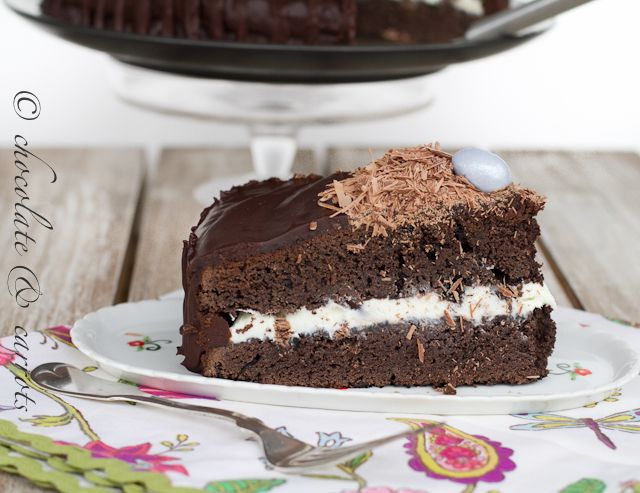 Bird's Nest Cake Page 2.  The ganache recipe for this sounds and looks amazing.