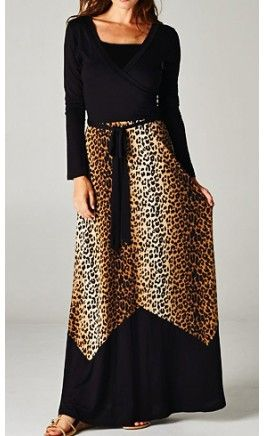 Love this maxi dress from Apostolic Clothing!