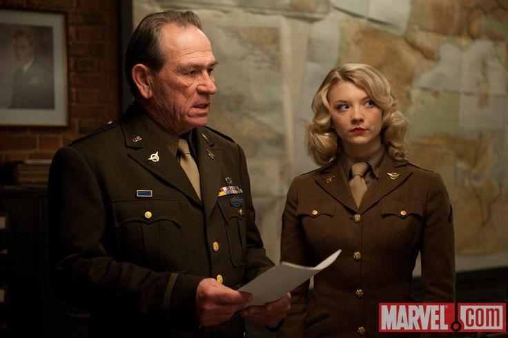 Natalie Dormer Captain America | Tommy-Lee-Jones-and-Natalie-Dormer-in-Captain-America | Los ...