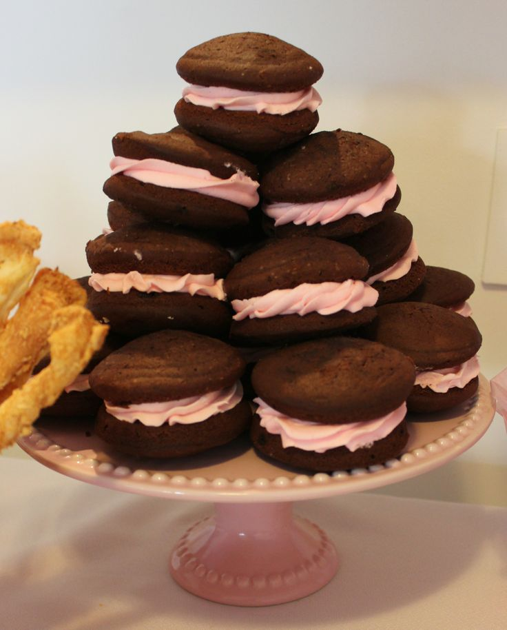 Chocolate Whoopies by Violeta Glace
