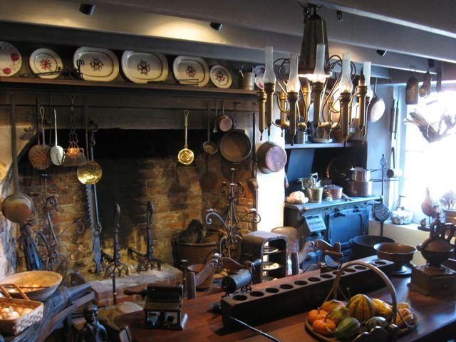Early Kitchen Houmas House In Louisiana Acre Sugar Farm