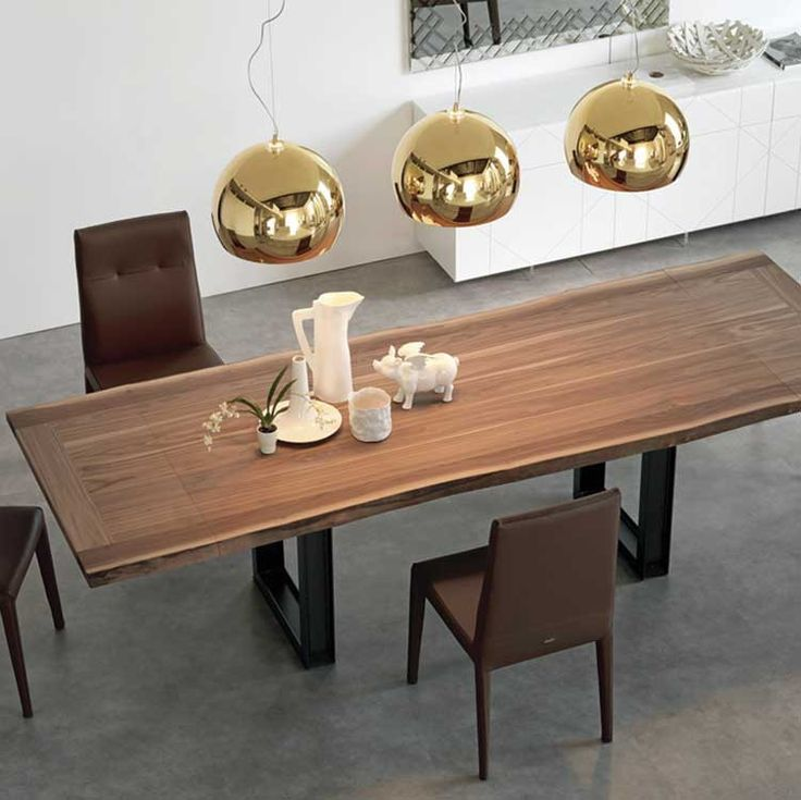 Modern Contemporary Basic Wood Dining Table