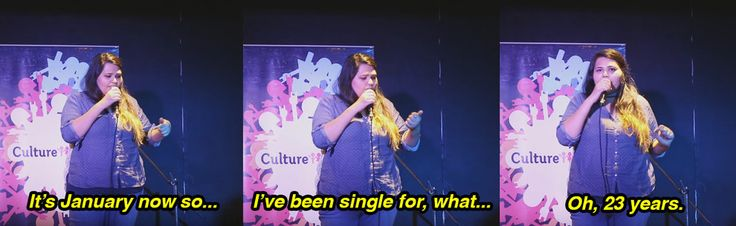 On permanent singledom.   9 Times India's Female Comedians Got TOO DAMN REAL