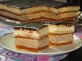 Domowe ciasta i obiady: Ciasto przekładane bez pieczenia