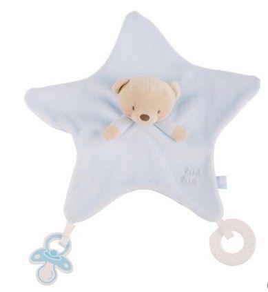 Precioso dou dou tundosado de la colección Lunas y Estrellas de Tuc-Tuc.  Trapito muy suave para relajar al bebé, que le acompañará en todos sus sueños. Medidas: 30 cm. Disponible en rosa y azul. Plazo de entrega: 24-48 horas.