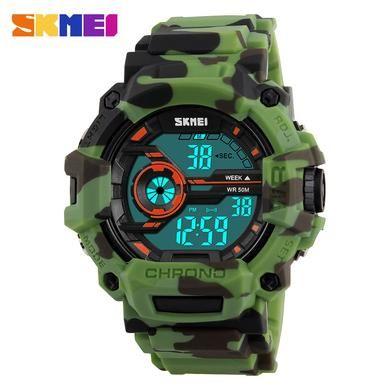 relógio digital da moda pulseira  de silicone  man sports relógio de pulso masculino