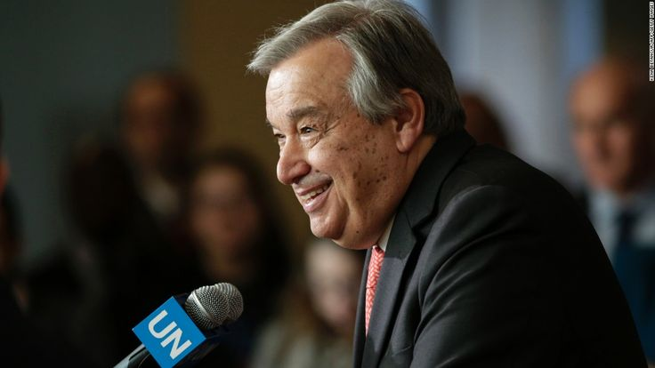 Antonio Guterres, new UN secretary-general, starts work - CNN.com