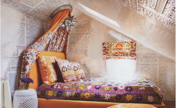 Bohemian Bedroom Design Pictures