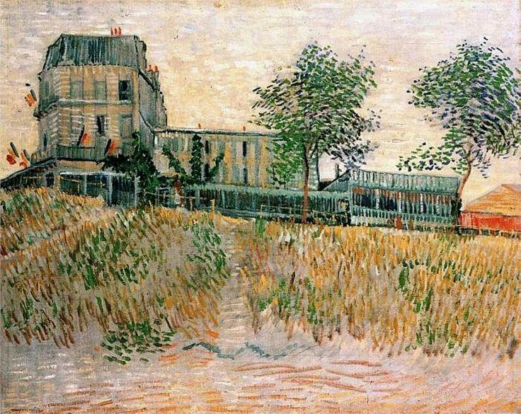 The Restaurant de la Sirene at Asnieres - Vincent van Gogh