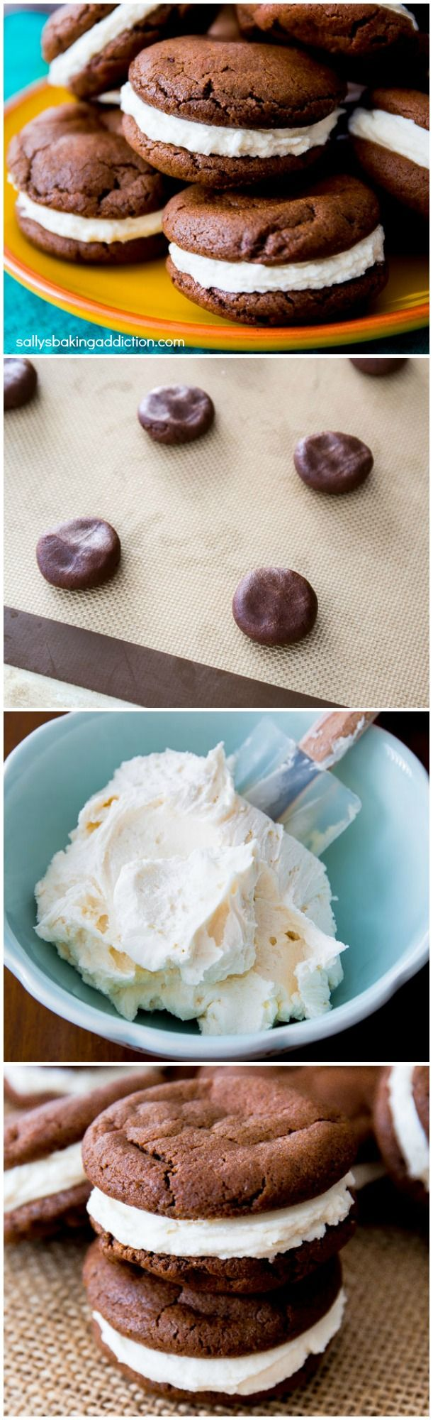 How to Make Homemade Oreos. It's so much easier than you think! And even better than store-bought if you ask me.