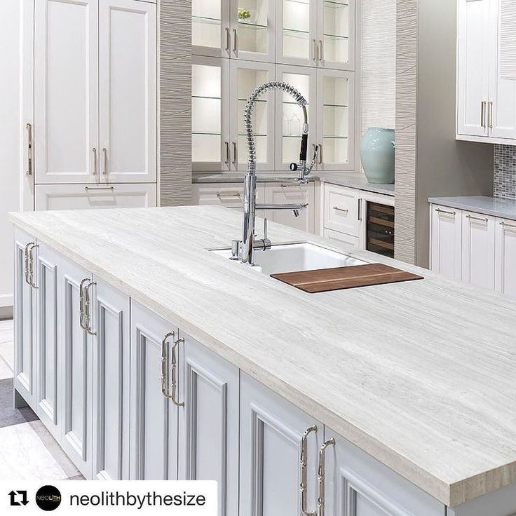 #Repost @neolithbythesize  We started the year announcing the date of the next upcoming trade show: KBIS. The largest trade show for Kitchen and Bath in U.S. where Neolith will launch several new Sintered Stone surfacing products to the North American market. From January 9 to 11 visit us at KBIS (Orlando) Booth W117.  Island: Neolith Strata Argentum Riverwashed 12 mm. . . . #Neolith #SinteredStone #KBIS #KBIS2018 #NeolithUSA #kitchen #bathroom #countertops #cladding #kitchencountertops…