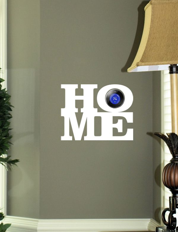 NEST Home Wall Decal